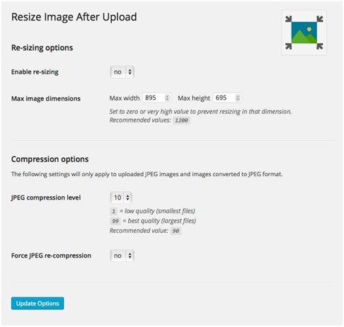 Image Size Reduction