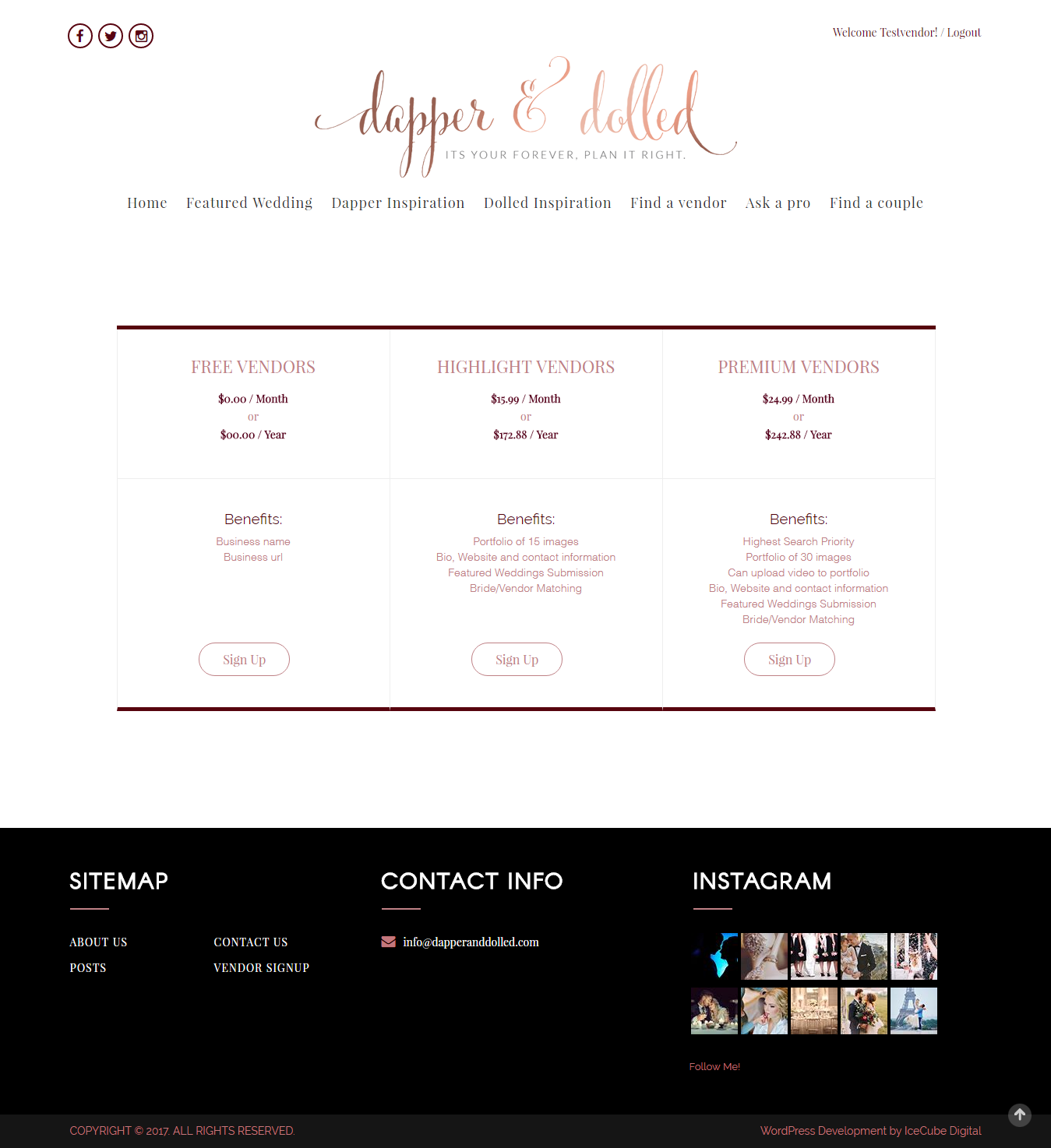 Dapper and Dolled-Solutions