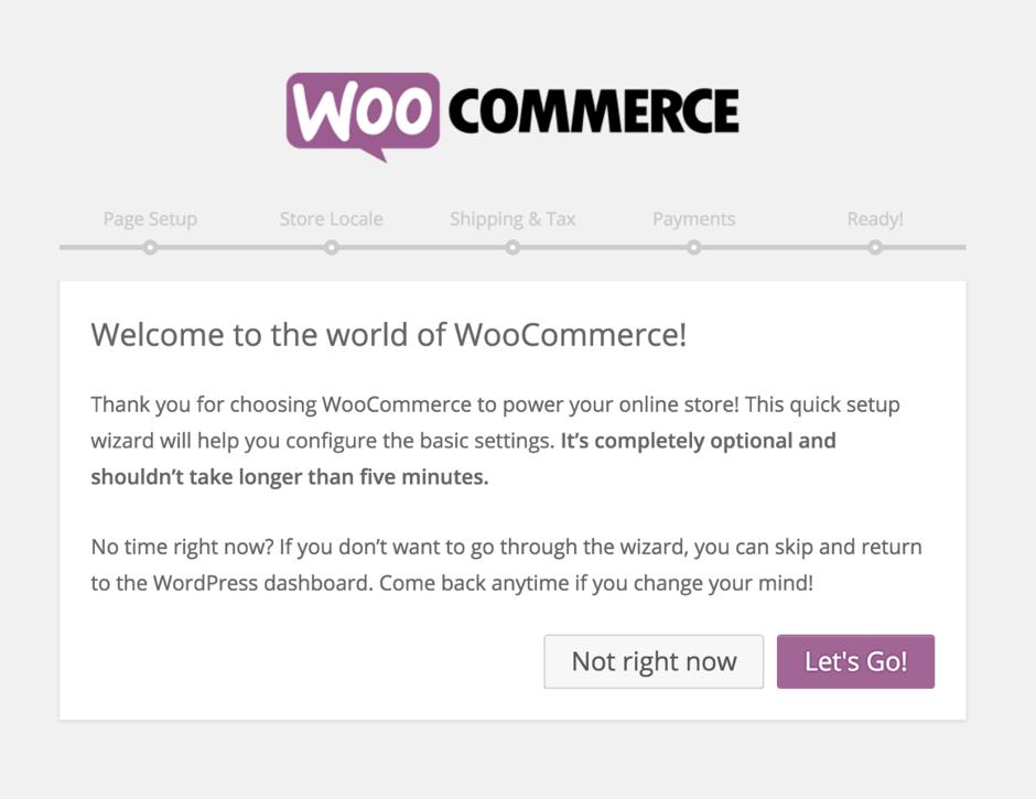 WooCommerce Wizard