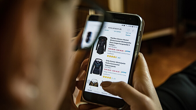 Your ecommerce store doesn't have a mobile-friendly design
